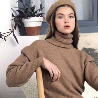 My cozy look 🍂Jersey Aurora 🍂     #andmeunlimited #SOFTcollection #AW2021 #HOMEwear #madeinspain #slowfashion #knitwear #brown #rebajas