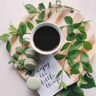 🌿☕📖 Relax & Enjoy    #andmeunlimited #slowfashion #anotherwayispossible #madeinspain #HOMEwear #lifestyle #nature #coffee #plants #friday